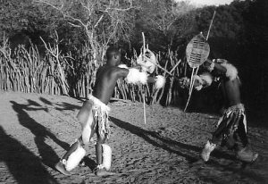 Traditional stick fighting