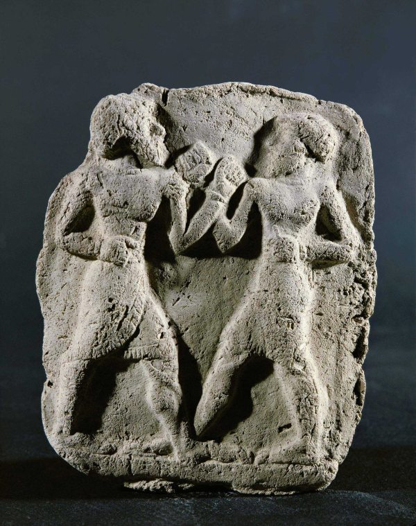 Figure 2 Mesopotamian Boxers 3rd-2nd BCE