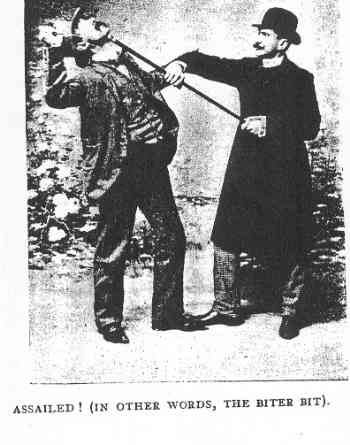 """All-round Self-defence,"" by Captain H. Webb Assailed1903"