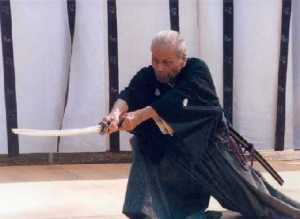Iwata Norikazu sensei iaido